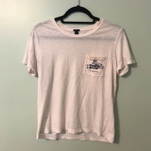 """I'm like so over it"" J.Crew t-shirt"